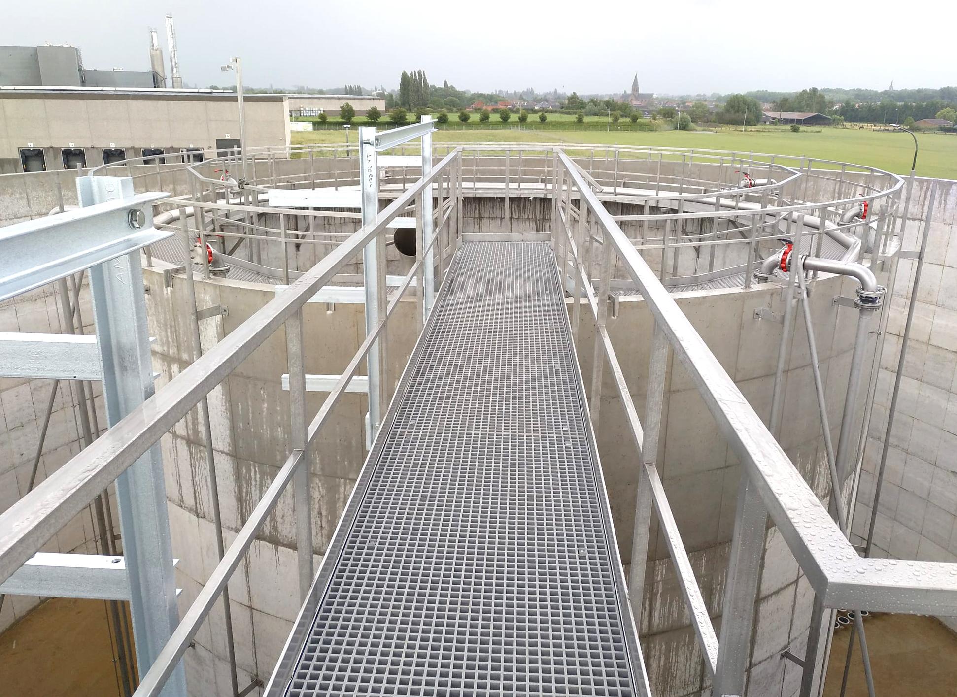 Mydibel Water Treatment INDEREN Tratamiento Aguas Mydibel INDEREN-Puente-04