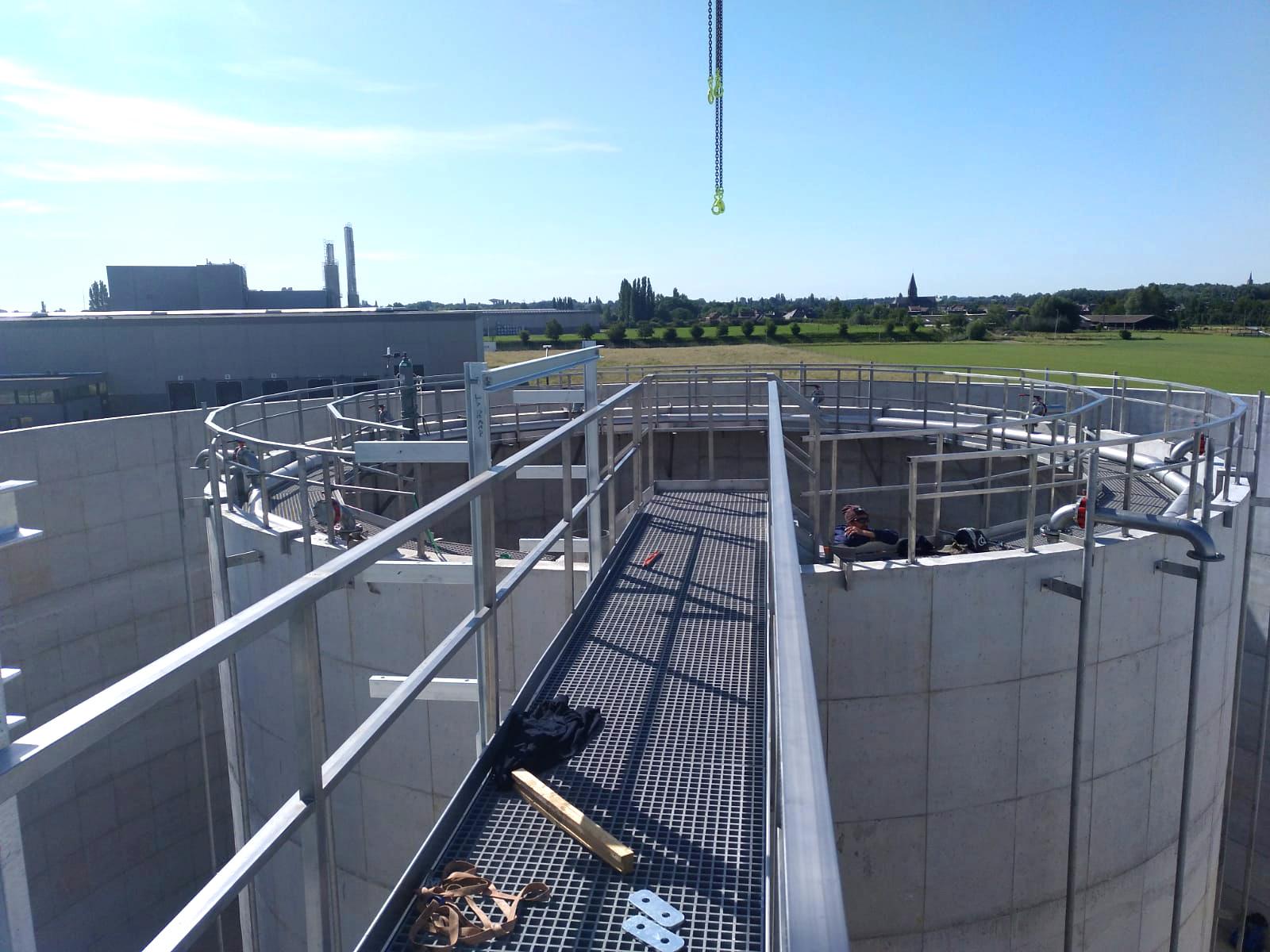 Mydibel Water Treatment INDEREN Tratamiento Aguas Mydibel INDEREN-Puente-05