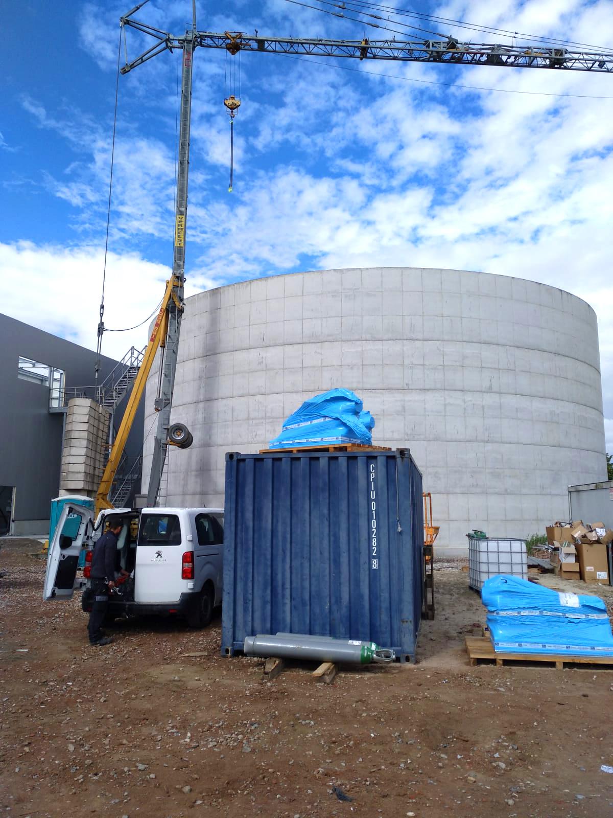 Mydibel Water Treatment INDEREN Tratamiento Aguas Mydibel INDEREN-Vista general reactor aerobio-01